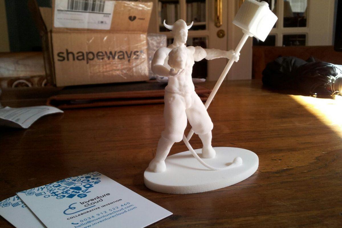 Impresión 3D ilustración