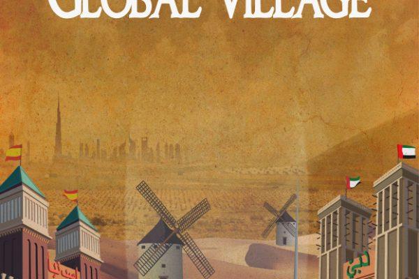 Ilustración cartel Dubai