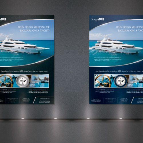 Diseño gráfico anuncio revista