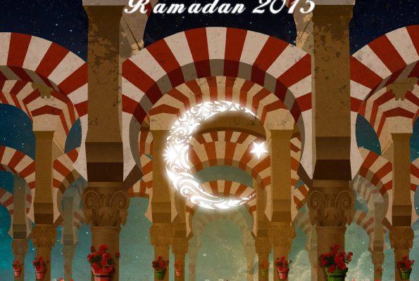 Ilustración cartel Ramadan