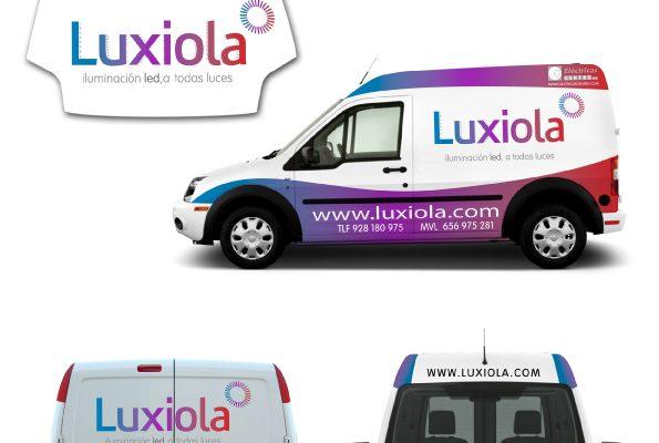 Diseño gráfico rotulación vehículo