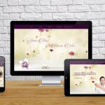 Diseño web bodas J&M