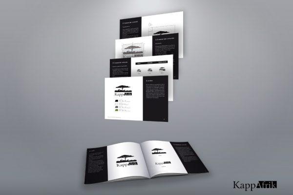 Diseño gráfico manual corporativo