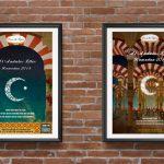 Diseño gráfico cartel Ramadan