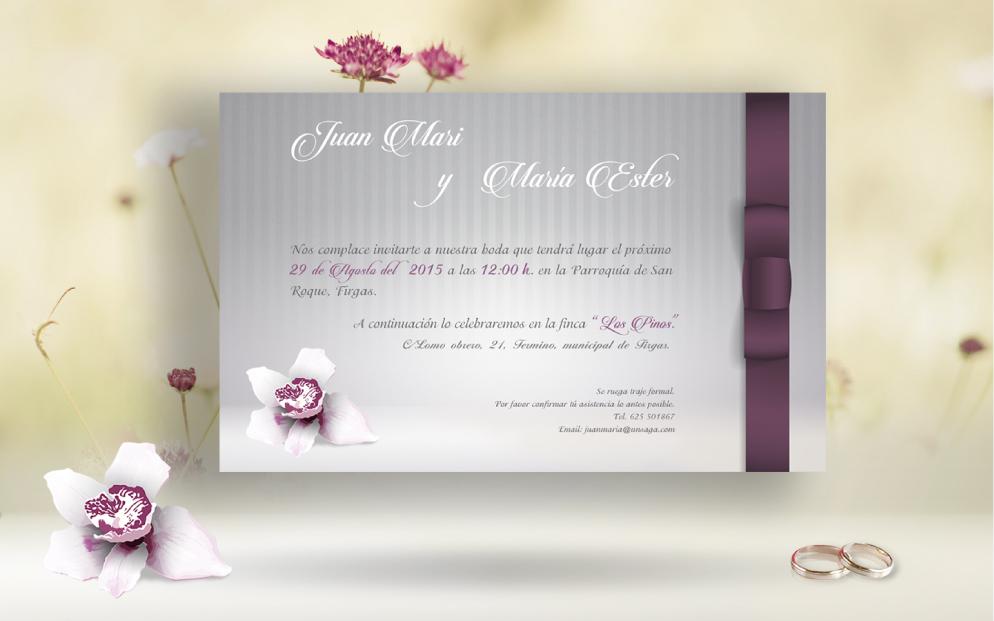 Invitación J&M